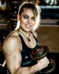 Girl with muscle - Marlena Wawrzyniak