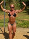 Girl with muscle - patricia pereira
