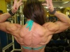 Girl with muscle - claudia pecanha