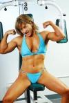 Girl with muscle - Cori Gates