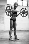 Girl with muscle - Rachel Davis