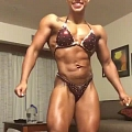 Girl with muscle - joyce brown