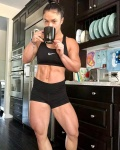 Girl with muscle - Samantha King