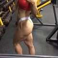 Girl with muscle - Clare Taubman