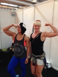 Girl with muscle - Dana Linn Bailey - Becs Cronshaw