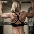 Girl with muscle - Becky Theriault