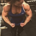 Girl with muscle - Laura Hammelstrup