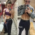 Girl with muscle - Emily Schubert