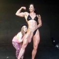 Girl with muscle - Maria Carolien Wattel