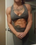 Girl with muscle - Destinee Bruch