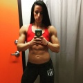 Girl with muscle - Annie Dohack
