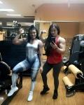 Girl with muscle - Hiba Noubani