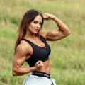 Girl with muscle - Arielle Baker