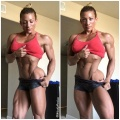 Girl with muscle - Wendy Fortino