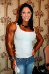 Girl with muscle - Tracey Greenwood