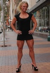 Girl with muscle - Christine Moyer