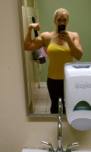 Girl with muscle - britta foster