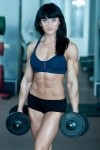 Girl with muscle - Olga Muntian