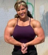 Girl with muscle - Gina Davis