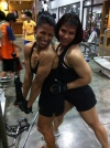 Girl with muscle - Roontawan Jindasing, Apiporn Chomsomboon