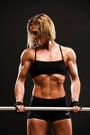 Girl with muscle - Christina Reed