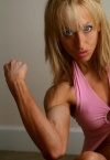 Girl with muscle - Kelly Lynn