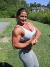 Girl with muscle - Theresa Ivancik