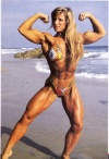 Girl with muscle - Rhonda Jorgenson