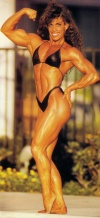 Girl with muscle - Joan Bovino