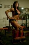 Girl with muscle - Ira Mayan