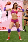 Girl with muscle - Adrianne Curry