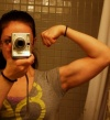Girl with muscle - christine beauchamp