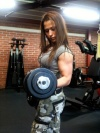 Girl with muscle - Yasemin Ourama