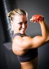 Girl with muscle - Mirka Loman