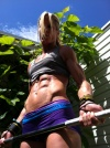 Girl with muscle - katie mack