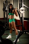 Girl with muscle - Nyisha Jordan