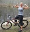 Girl with muscle - Jennifer Frye