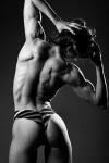 Girl with muscle - Kisha Wilson