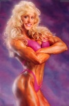Girl with muscle - Shelley Beattie