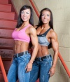 Girl with muscle - Terri McBee / Patricia Beckman