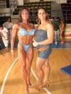 Girl with muscle - Giusy Raffone (L), Daniela D'Emilia (R)
