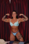 Girl with muscle - Tina Miller