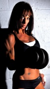 Girl with muscle - Jennifer Patraca