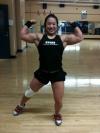 Girl with muscle - Amanda Lau