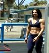 Girl with muscle - Ildiko Gaspar