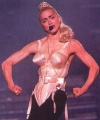 Girl with muscle - Madonna
