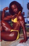 Girl with muscle - taunya