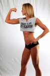 Girl with muscle - Kristy Chavonne Taranto