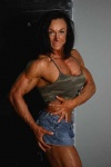 Girl with muscle - Sharon Mould
