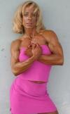 Girl with muscle - Michele Burdick